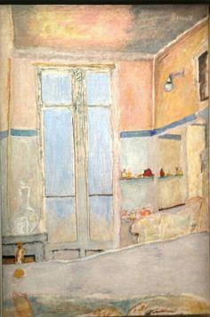 Dans la salle bains, Pierre Bonnard                                                                                                                                                      More