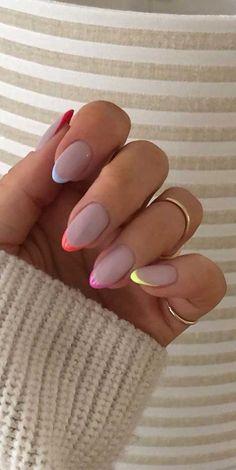 nail art designs for spring * nail art designs ; nail art designs for spring ; nail art designs for winter ; nail art designs with glitter ; nail art designs with rhinestones Nails Yellow, Purple Nail, Blue Acrylic Nails, Square Acrylic Nails, Black Nails, Pink Tip Nails, Ombre Nail Art, Round Tip Nails, Round Square Nails