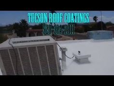 Cooler That Caused Roof Damage   Roof Coating Tucson One Roof At A Time Tucson  Roof