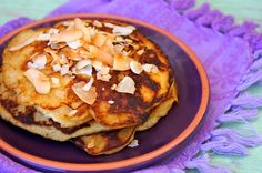 Gluten-Free Coconut-Pineapple Pancakes | Cooking On The Weekends