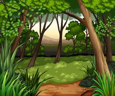 View album on Yandex. Trees For Kids, Art Tablet, Wallpaper Keren, Painting Competition, Cute Backgrounds, Easy Paintings, Paper Background, Backdrops, Scenery