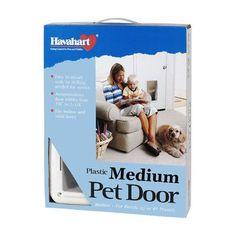 "Havahart Wireless Plastic Pet Door Size: Medium (14.69"" H x 11.31"" W x 2.82"" L)"