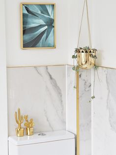 Nine long months later and we have finally completed our bathroom renovation. the marble and gold bathroom of my dreams! Rustic Bathroom Vanities, Gold Bathroom, Bathroom Ideas, Bathroom Closet, Washroom, Mold In Bathroom, Small Bathroom, Marble Bathrooms, Bathroom Plants