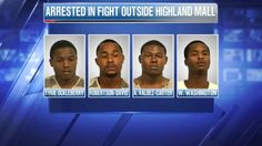 Five arrested in Highland Mall riots