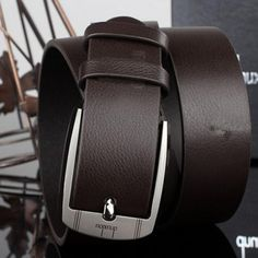 New brand designer mens belt luxury style leather belts for men metal buckle man Jeans pants faux leather male strap free ship