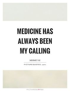 Medicine has always been my calling! #Doctor