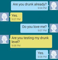 The Drunk Test