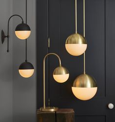 I'm going crazy over these light fixtures. Wonder if they'll look too strange in my 1925 house.
