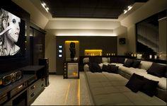 Projeto Desing de Interiores Ambiente: home theater