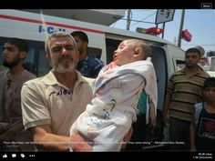 What did this little child do for Israel ??  #Icc4Israel #GazaUnderAttack