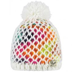 caafab78bc61 The Barts Max beanie features colourful yarn and an extra crocheted thread  to make it truly one-of-a-kind.