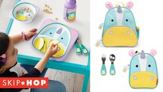 (Almost) too-cool-for-school, Skip Hop will send them off to their best first day ever when they're carrying a Zoo Collection backpack or lunchie.  Consider them your little one's new BFF.