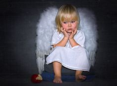 Cute little angel Little People, Little Ones, Entertaining Angels, Angel Drawing, I Believe In Angels, My Guardian Angel, Angels Among Us, Angel Pictures, Precious Children