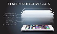 Front Explosion-Proof 9H 2.5D Tempered Glass for iPhone 7