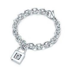 Tiffany Letter Tiffany D Charm Bracelet-$36.95
