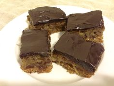 Chocolate, Date and Orange Bars  #LivingHealthyWithChocolate