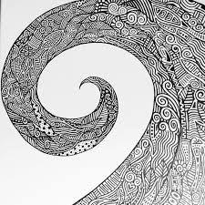 mandala wave pattern