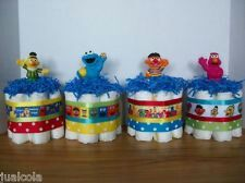 15 Best Sesame Street Baby Shower Centerpieces Favors Images