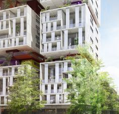 tour de logements / Bagnolet Architecture