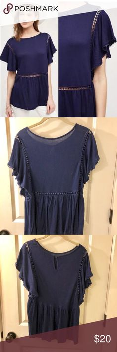 Anthropologie On The Road Paolina Tee Great summery top from Anthro! Barely worn. Great for strolling around the city or wearing to the beach with a floppy hat. On The Road Tops Blouses