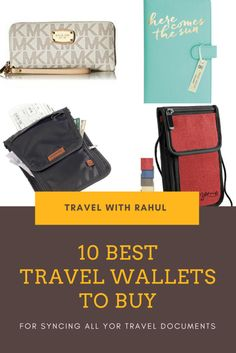 A travel wallet is the thing that stays close to us most of the time on our journeys. So you gotta have a cool and a valuable one. Have a look at these best travel passport wallets synced to make your choice easy. :)  #wallet #walletsforwomen #passportholder #passport #shoppingonline #womensfashion #WomenWallets #accessories #walletsformen #bagsandpurses #purse