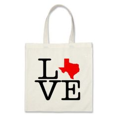 Wedding Welcome Tote Bag - I Love Texas Tote by baggedandloaded on Etsy, $17.50  https://www.etsy.com/shop/baggedandloaded?ref=l2-shopheader-name