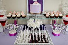 Dessert Buffet with Cake Pops
