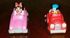 Mickey Mouse S32 Minnie F16 Pull back Toy cars vehicles Disney cake topper in Toys & Hobbies, TV, Movie & Character Toys, Disney | eBay