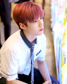 Four Seasons - Spring (Eunsang x Dongpyo) Pretty Boys, Cute Boys, Love U Forever, Produce 101, Ulzzang Boy, Read News, Mingyu, Four Seasons, Boyfriend Material