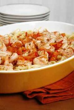 Easy microwave shrimp scampi for a quick weeknight dinner