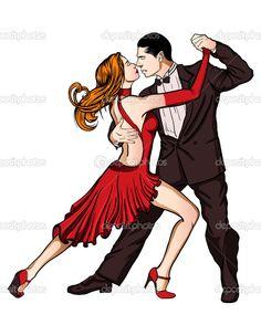 depositphotos_19088329-stock-illustration-a-couple-dancing-tango-isolated.jpg (820×1023)