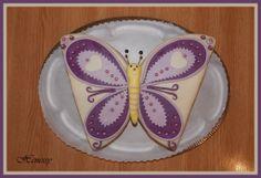 Pillangó torta - Butterfly cake