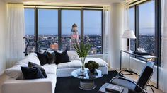 The Ashland began renting its 304 market-rate apartments in July with studios priced from $2,600. The tower's developer just released a slew of new model unit pictures that put the apartments' best foot—and views—forward.