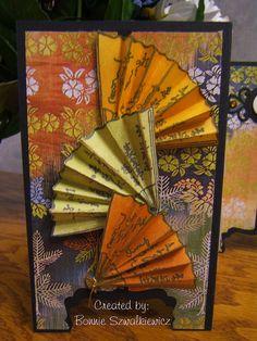 Asian fan card