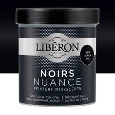 Peinture Pour Meuble, Objet Et Porte, Mat, LIBERON, Noir Nuance, New