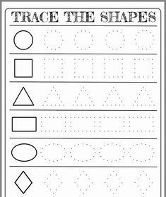 Shapes Worksheets for Kindergarten Free Printable Shapes Worksheets for toddlers and Shape Worksheets For Preschool, Shapes Worksheet Kindergarten, Pre K Worksheets, Shapes Worksheets, Preschool Writing, Kids Learning Activities, Homework For Preschoolers, Free Printable Kindergarten Worksheets, Matching Worksheets