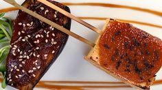 Japanese Grilled Tofu with Miso Glaze / Dengaku #gusto