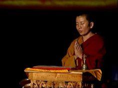 Ani Choying teaching the OM MANI PADME HUM mantra