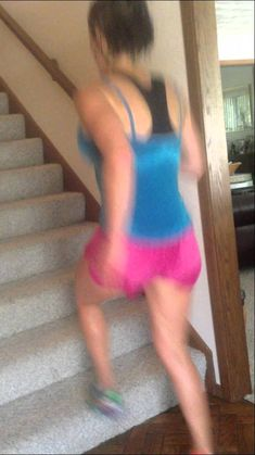 Stair workout- doing this when we move!