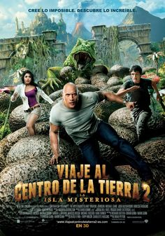 Viaje al centro de la Tierra 2 la isla misteriosa - Journey 2 The mysterious island