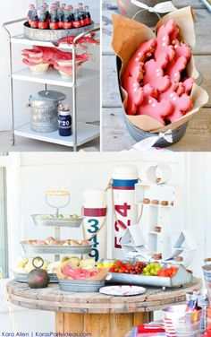 Crab Boil for 4th of July for Coca Cola #shareacoke by Kara Allen | KarasPartyIdeas.com #shareacokecontest
