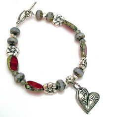 Have a heart bracelet (Lima Beads Design Gallery)