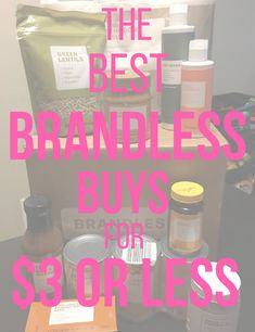 Brandless Review: Wh