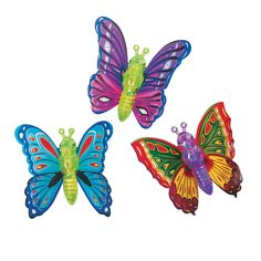 Butterfly Wind-Up Toys - OrientalTrading.com