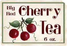 CHERRY TEA BY KATHY HATCH