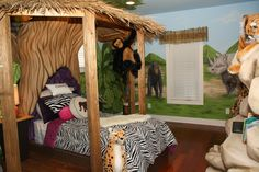Is Your Child The King Or Queen Of The Jungle! This Is The Room For Them!  #kidsroom @Tony And Ani Gafafyan | Americanarealestategroup.com