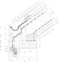 Le plus récent Instantanés architecture Drawing Réflexions Architecture Symbols, Detail Architecture, Landscape Architecture, Timber Roof, Timber Cladding, Facade Design, Roof Design, Dormer House, Wood Facade
