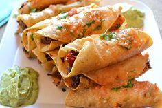 Guy Fieri Recipe | Chicken Taquitos - veganized!