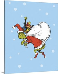 How the Grinch Stole Christmas Collection IV:  Christmas in Who-ville - Dr. Seuss Art