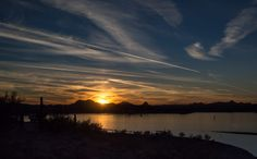 Sunset at Lake Pleasant by R. X. Hunter on 500px
